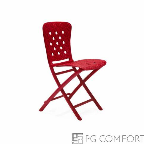 Nardi Zac Spring szék - Tűzpiros színben