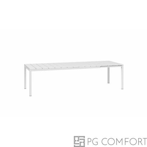 Nardi Rio Extensible kerti asztal - 210 cm - Fehér színben
