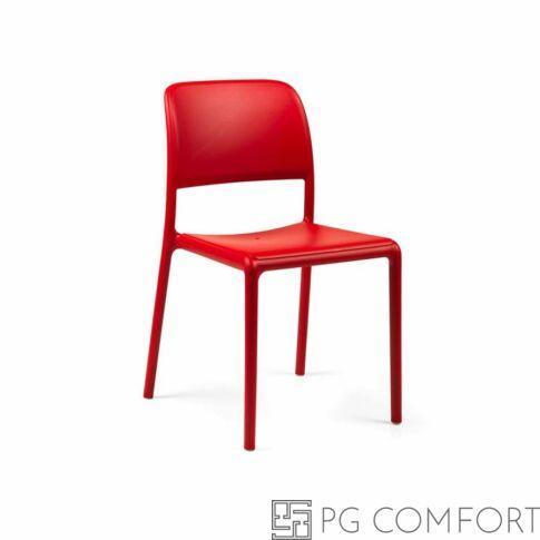Nardi Riva Bistrot szék - Korall piros színben