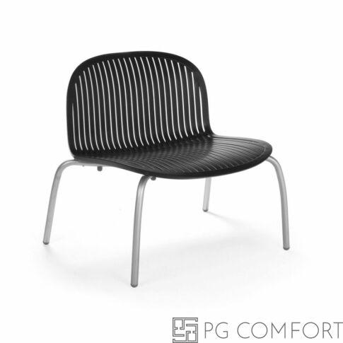Nardi Ninfea Relax szék - Antracit szürke színben