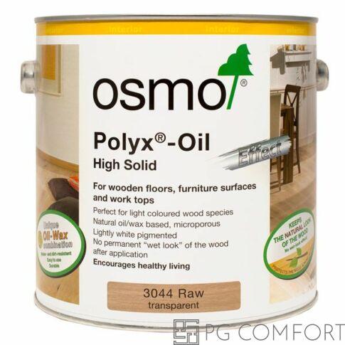 Osmo POLYX®-OIL NYERS EFFEKT - Nr.-3044 Nyers áttetsző 2,5 L