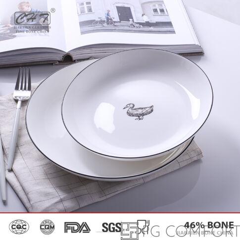Luxury Duck előétel tányér - L