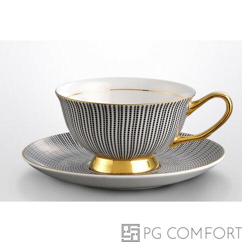 Royal Grey teáscsésze és csészealj