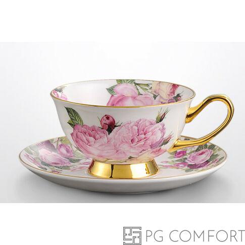 Royal Rose teáscsésze és csészealj
