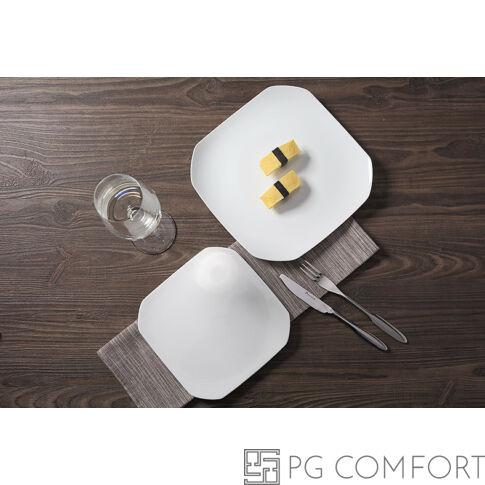 White line desszert tányér