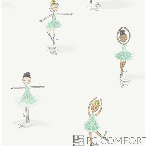 Wallquest tapéta - Ballerinas