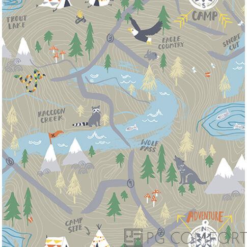 Wallquest tapéta - Map