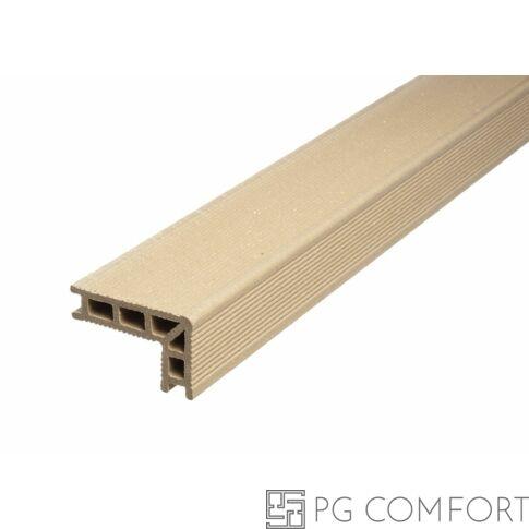 UPM ProFi Deck WPC Lépcsőprofil Aranybézs
