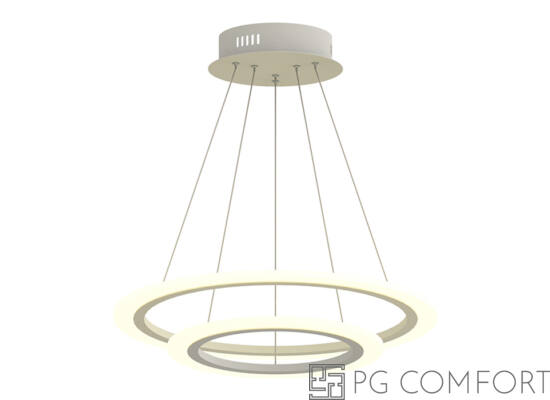 Zuma Flat Circle LED függeszték